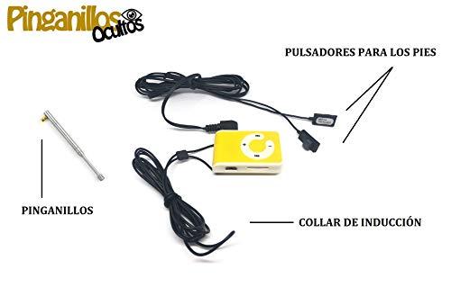 Pinganillo + Mp3 con Pulsadores de Pinganillosocultos
