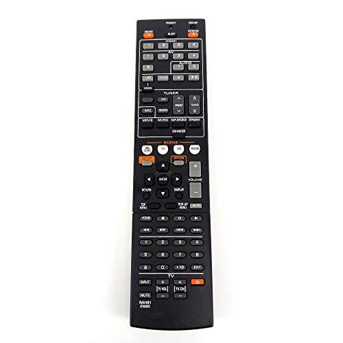 RAV491 Ersatz-Fernbedienung für Yamaha ZF30320, ersetzt RAV494 HTR-4066 RX-V475 AV-Receiver Radio