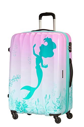 American Tourister Disney Legends - Spinner L Maleta, 75 cm, 88 L, Multicolor (The Little Mermaid)