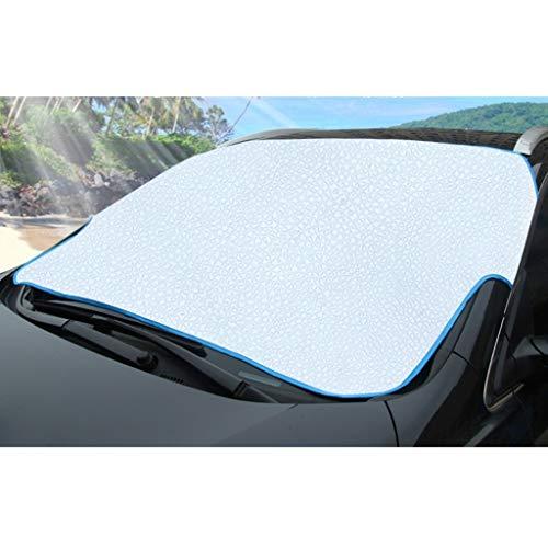 ZY-ramps KangJZ UV Blokkeren Zonneschaduw, Binnen De Auto Voorruit Auto Raam Opknoping Buiten Zon Visor Zonnebrandcrème Warmte-isolerende Privacy Bescherming Zonneblok praktische