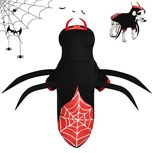 Halloween Disfraz para Perros y Gatos, Disfraces de Halloween para Mascotas, Halloween Costume Dog, Ideal para Halloween, Navideño Cosplay.