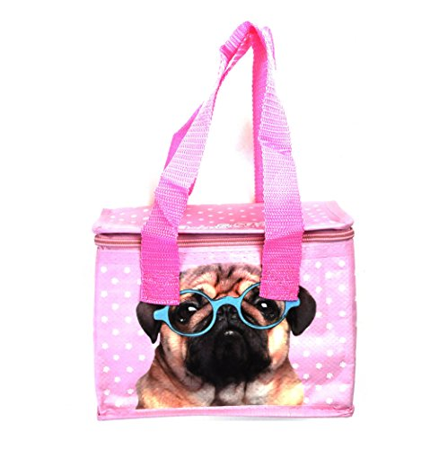 Fish Around Woven Cool Bag Lunch Box – Jack Evans Pink Pug