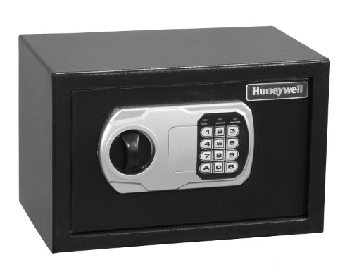 HONEYWELL - 5101DOJ Approved Small Security Safe with Digital Lock,...