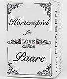 LOVE with CARDS Juego para dos que aman, juego de mesa para parejas, compromiso o casado. Regalo original para San Valentín y aniversarios.