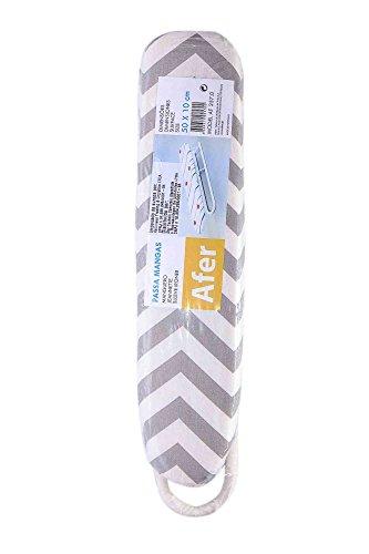 Afer 257.0wpwb Jeannette Prescripción Tabla de Planchar Blanco/Azul, Multicolor