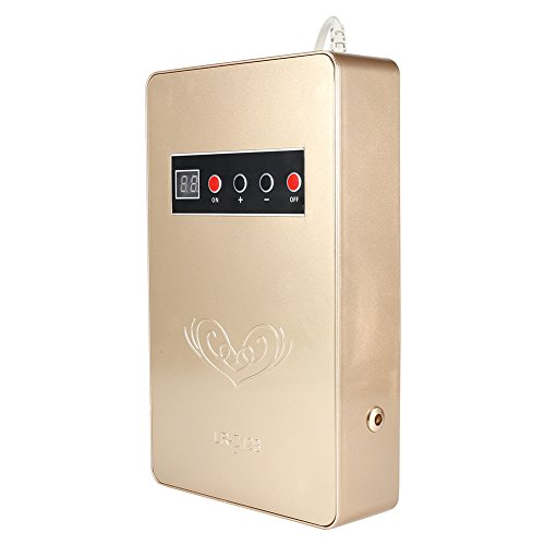 IonizadorPurificadorAire, Generador de Ozono, de Abs 220V, 50Hz 15W Ionizador con Orificios Posteriores(ORO)