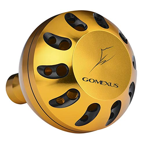 GOMEXUS Power Knob Compatible for Shimano TLD Penn Spinfisher Slammer 6500 7500 Daiwa BG 5000 6500 Tournament SS Saltwater Spinning Reel Knob Drill 45mm Metal -  Fribest, G45GDGDBK-1