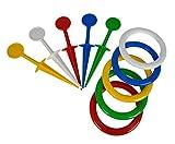 Simba 107212828 - Anelli da lanciare, set da gioco in plastica