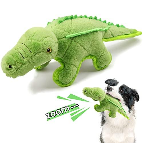 Iokheira Hundespielzeug, Quietschspielzeug für Hunde Plüschspielzeug für Hund aus natürlicher Baumwolle, hergestellt für mittelgroße Hunde, Große Hunde