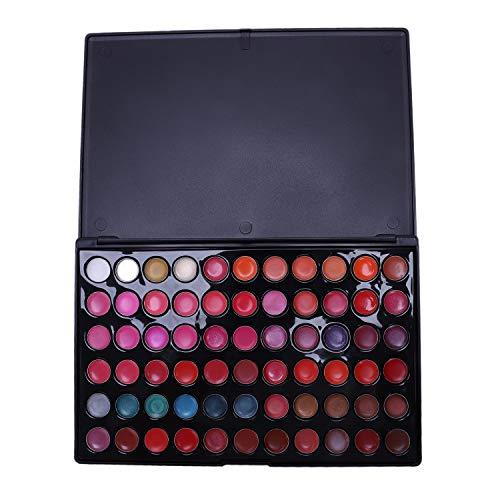 RETYLY Brillo Labios 66 Colores Maquillaje Makeup Caja