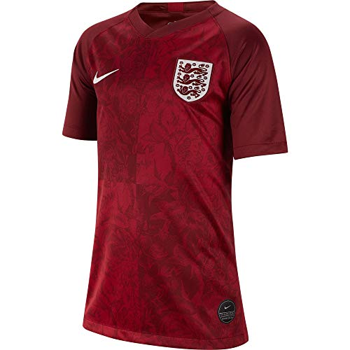 Nike England 2019-20 WC Youth Away Jersey - Red XL