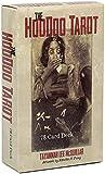 YQRX El Tarot de Hoodoo, Adecuado para Las reuniones de Familiares y Amigos, Tarjetas de Tarot y Libro de Libros introductorios de 78 Piezas/Set (Bolsa, Mantel)