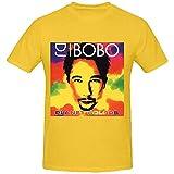 Photo de NR DJ Bobo Planet Colors Custom T Shirts Design Round Neck