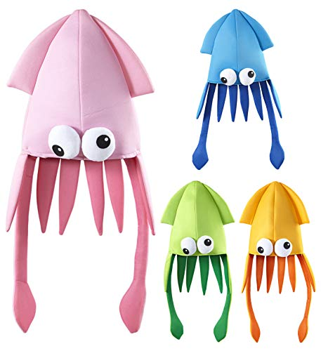 WIDMANN 1 GIANT SQUID HAT Accessory for Sea Animal Creature Tentacles Fancy Dress