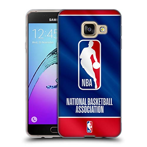 Head Case Designs Ufficiale NBA Banner 2019/20 Logoman Cover in Morbido Gel Compatibile con Samsung Galaxy A3 (2016)