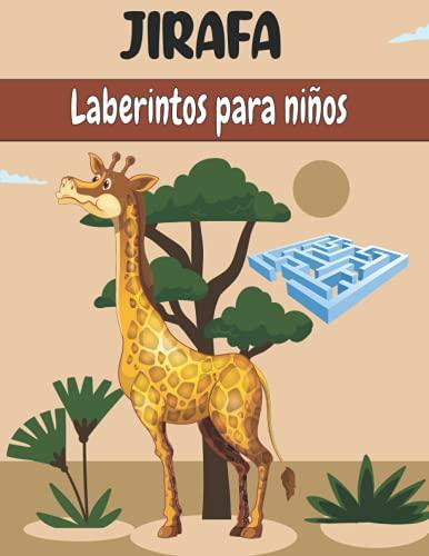 JIRAFA Laberintos para niños: Cuaderno De Laberintos Para Niños A Partir De 5 Años