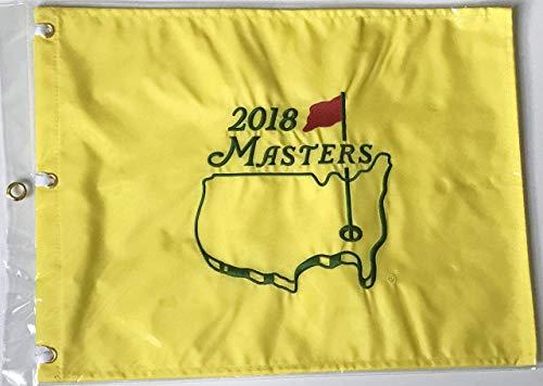 2018 Masters golf flag augusta national pin flag new pga patrick reed wins