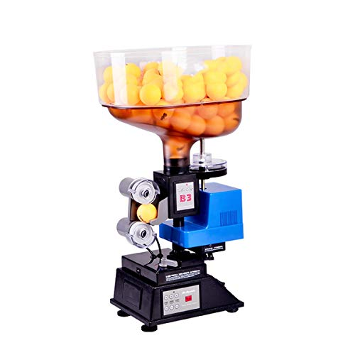 Sale!! LiChenYao Automatic Table Tennis Robot Machine, Profession Ping Pong Machine with Wireless Re...