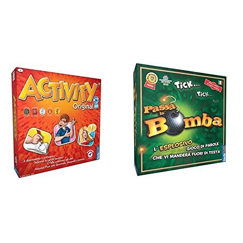 Giochi Uniti - Activity - Original Edizione Italiana & Uniti- Passa La Bomba Gioco Di Divertimento, Multicolore, Gu034/2