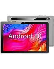 【2021NEWモデル Android 10.0】MARVUE Pad M10 タブレット 10.1インチ RAM2GB/ROM32GB 2.4GHz Wi-Fi対応 4コアCPU 800x1280 IPSディスプレイ デュアルカメラ 日本語仕様書付き(灰)