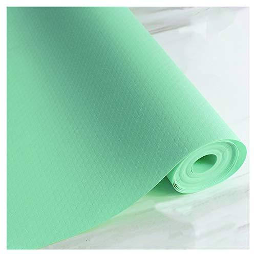 LOKIH Plastico Protector para Cocina Cajones Alfombras Non Adhesivo para Nevera Mueble Fregadero Estante Organizador Cubiertos EVA Cubre Encimera,Verde 1 Rollo,35x500cm