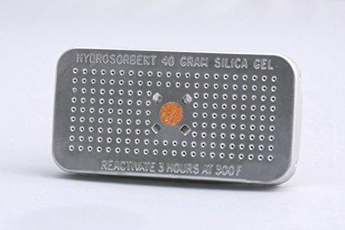 HYDROSORBENT SG-40 Silica Gel Dehumidifier Desiccant 40 Gram Orange/Green NO Cobalt (II) Chloride 5 Pack