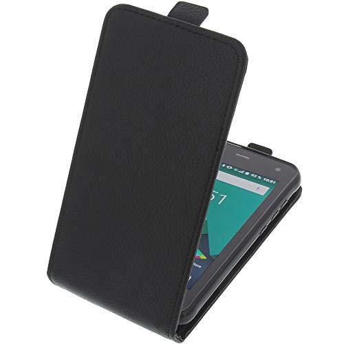foto-kontor Tasche für Cyrus CS22 Smartphone Flipstyle Schutz Hülle schwarz