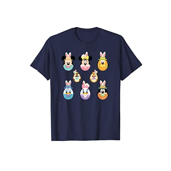 Disney Mickey and Friends Cute Easter Bunny Ears T-Shirt