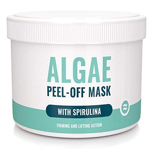 UB Abziehbare Algenmaske mit Spirulina mit straffender und liftender Wirkung - Alginatmaske mit natürlichem Algenextrakt - Algae Peel Off Mask 220 g