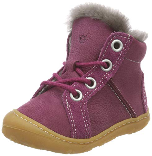 RICOSTA Baby Mädchen Lenny Sneaker, Rot (Fuchsia 365), 23 EU