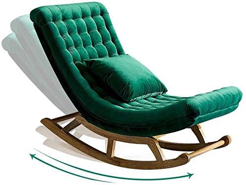 REWD Silla mecedora Nap reclinable silla de comedor para mujeres embarazadas sillón de lectura dormitorio interior y exterior salón dormitorio