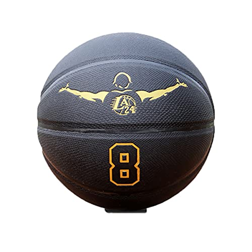 LIZTX Kobe Bryant Basketball Lakers Basketball Gift Black Mamba Lakers No. 24 Memorial Model No. 7 Caja De Regalo De Baloncesto Estándar Para Exteriores