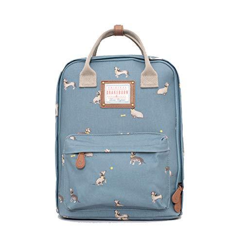 Brakeburn Sausage Dog Backpack Blue