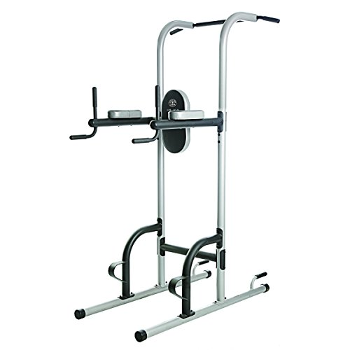 Gold's Gym XR 10.9 Power Tower Vertical Genou Ouvrir Fonctions Différentes Stations