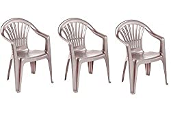 Great for summer parties, BBQs, picnics and camping They are really a great way to upgrade your garden or patio furniture Height: 82 cm Length: 55 cm Width: 53 cm Height of the seat is 41 cm Can be brought individually or as a multi pack