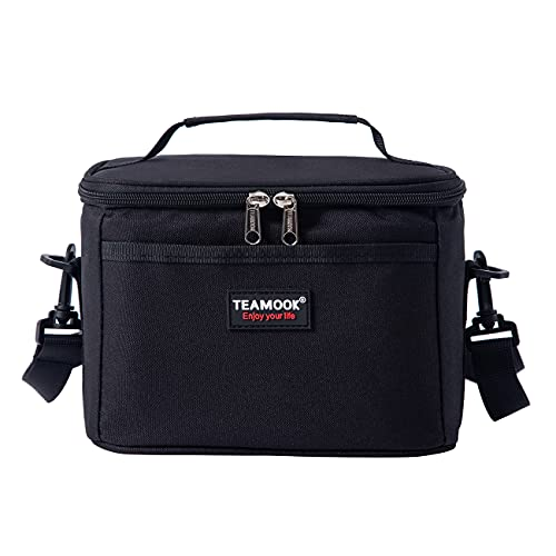 TEAMOOK 5L Insulated Lunch Bag Water-Resistant Leakproof Soft Cooler Bag...