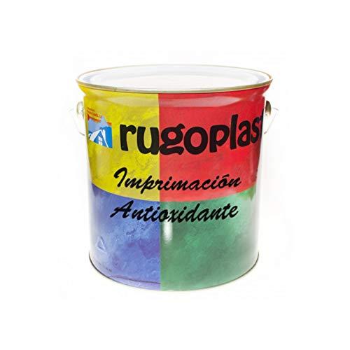Rugoplast - Imprimación Antioxidante para hierro y acero, Gris, 4L