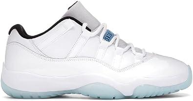 Amazon.com | Nike Air Jordan 11 XI Retro Low Legend Blue AV2187 ...