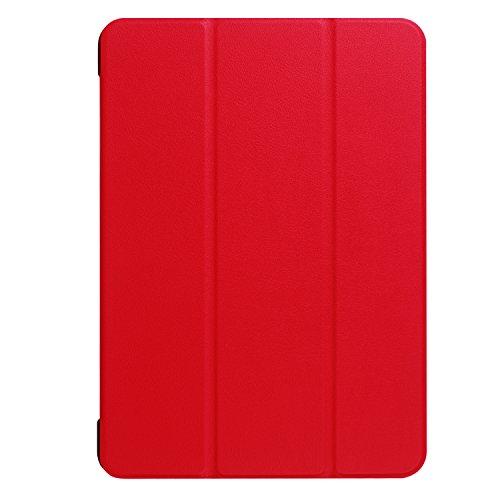 Lobwerk Case für Lenovo Tab4 10.0 Zoll TB-X304F Ultra Slim Cover Hardcase aufstellbar Wake & Sleep Funktion + GRATIS Stylus Touch Pen
