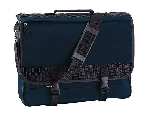 Bolso estilo maletín con múltiples compartimentos