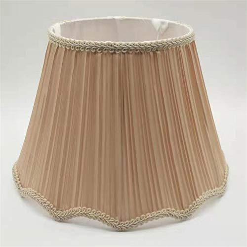 AleXanDer1 Tulipas para lamparas 30 Cm E27 Lampshade Art Deco, Utilizado For Lámparas De Mesa, Pantalla, Usado For Decoración del Hogar (Body Color : Beige)