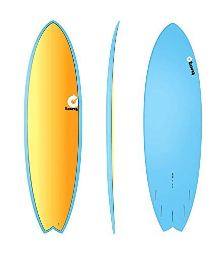 Torq Surfboard Epoxy Tet 6.6 Fish Full Fade C