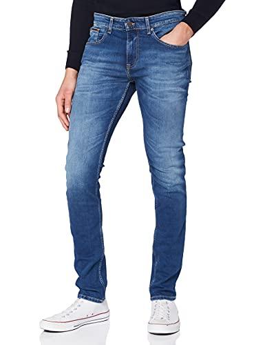 Tommy Hilfiger Austin Slim Tapered WMBS Jeans, Wilson Mid Blue Stretch, W31 / L34 Homme