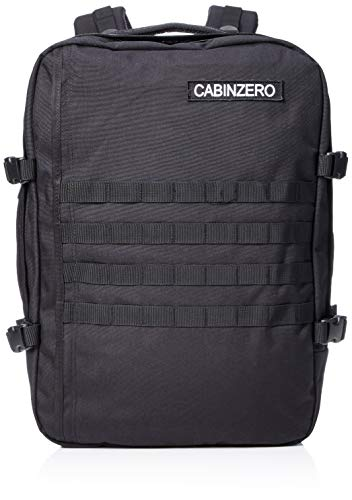 CabinZero reistas Military Absolute Black 52 cm