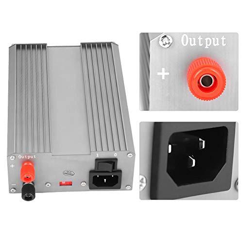 Fuente de alimentación ajustable digital DC 220V Control MCU variable Electrónica de alta precisión con enchufe de la UE(European standard 220V)