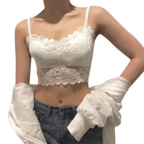 SIOPEW Baby Dolls Dessous Sexy Ouvert Fashion Lace Strap Wrapped Chest Shirt Kein Stahlring BH Top Neue Home Yoga Sport UnterwäSche Erotik Versuchung Intimates ReizwäSche
