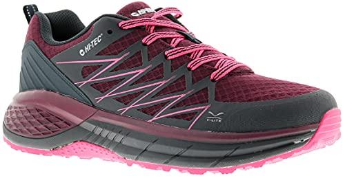 Hi-Tec Women's Trail Destroyer Walking Shoe, DEEP Purple/Sky...