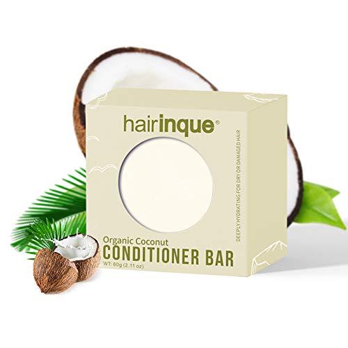 4. YINGBO barra de champú acondicionador sólido, ecológica hecha con productos orgánicos naturales, sin crueldad y vegana, barra de 2.5 onzas