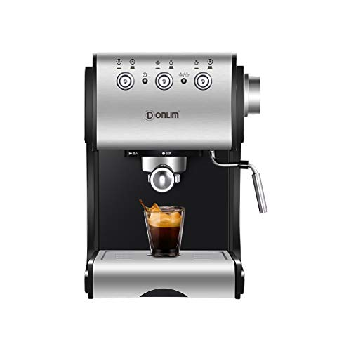 Great Deal! Coffee Machine Home Small Semi-automatic Italian Commercial Steam Bean To Cup Coffee Mac...