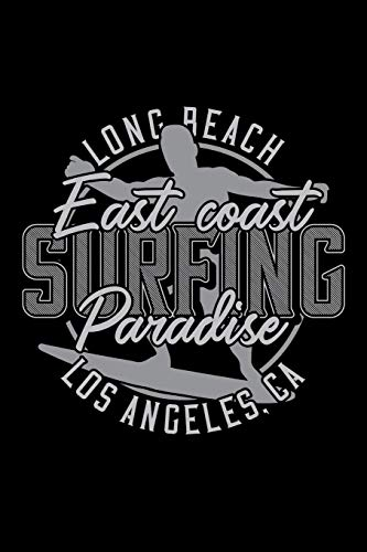 East coast surfing paradise: Notebook | Journal | Diary | 110 Lined pages